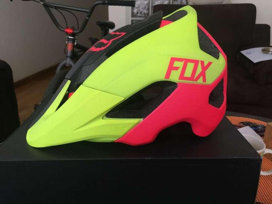 Casco de Ciclismo Fox