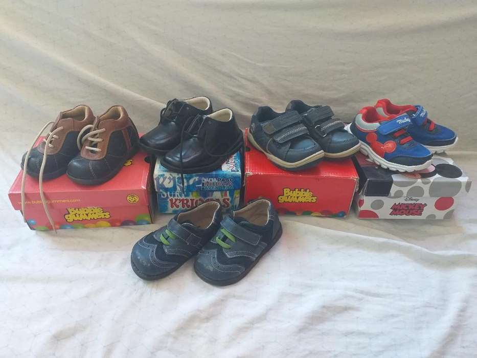 Zapatos Bebé, Bubble Gummers, Mickey