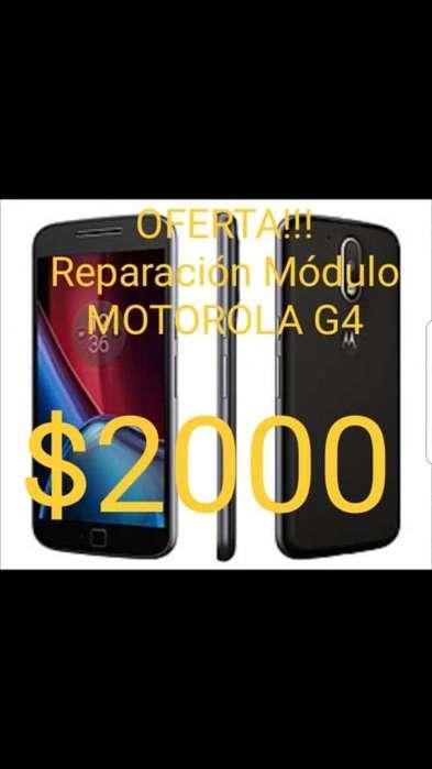 Oferta Reparación Pantalla Moto G4