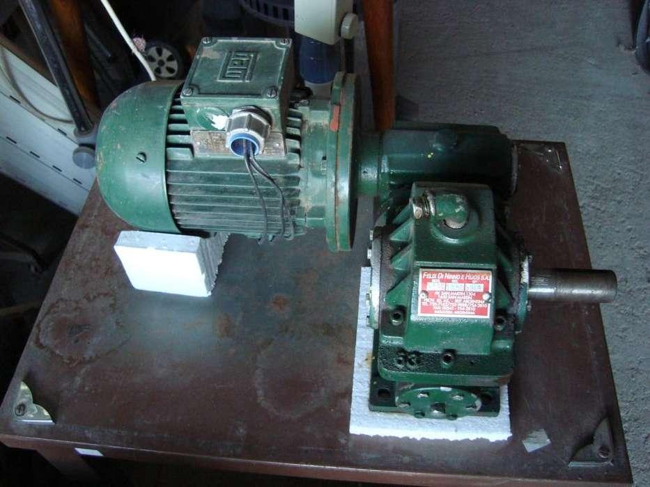 Motorreductor V. 380 HP 0,33 1050/1 Di Nino