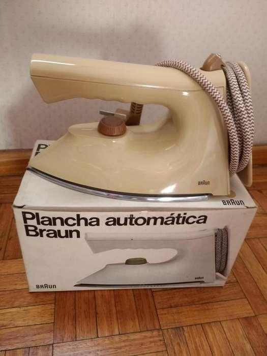 Plancha Braun
