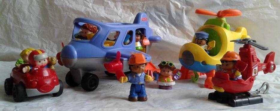 Aviones Little People