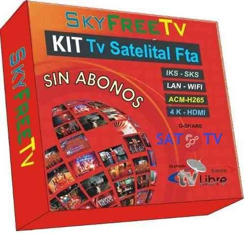 KIT SATELITAL TV