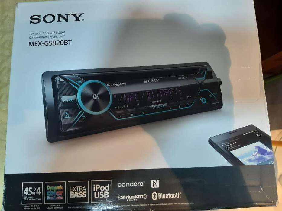 Radios Sony 2 Usb Bluetooth Cd Nuevos