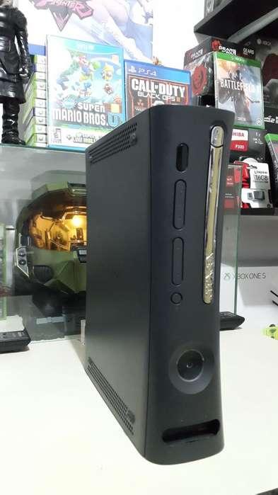 Xbox 360 Elite Con LT 3.0 Solo Consola Obsequio control y Cable HDMI