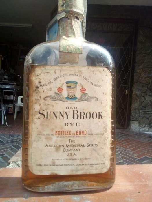 Venpermuto Antigua Botella Año 1917 Cole