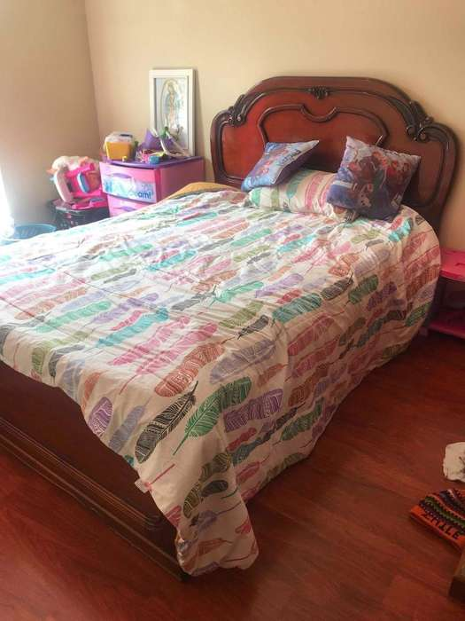 Cama 2 plazas con colchón