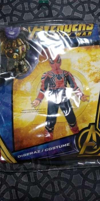Disfraz de Spiderman Talla 4