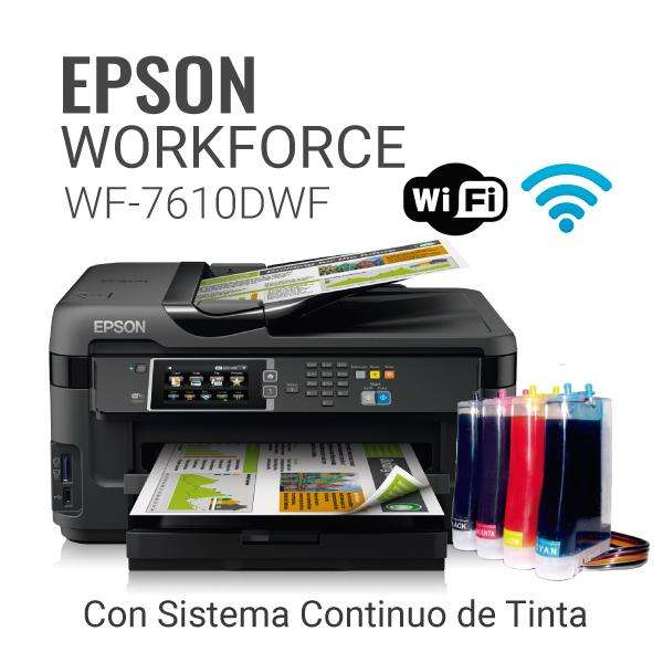 Impresora Epson Workforce Wf 7610