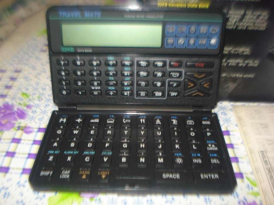 Traductor, <strong>agenda</strong> Y Calculadora Travelmate 32kb En Caja