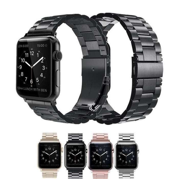Correa Pulso Manilla Acero Apple Watch