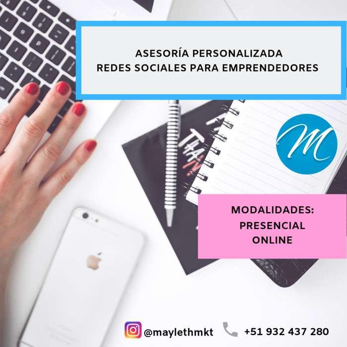 Asesoría Redes Sociales para tu negocio
