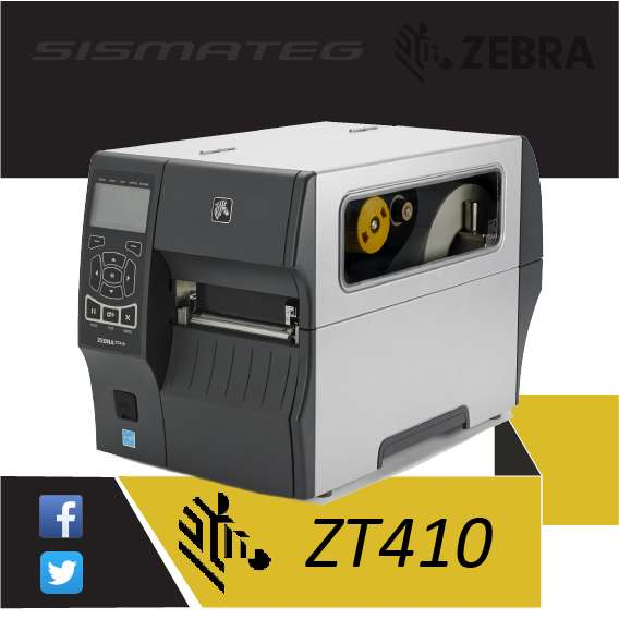 ZT410 Zebra Impresora de Etiquetas.