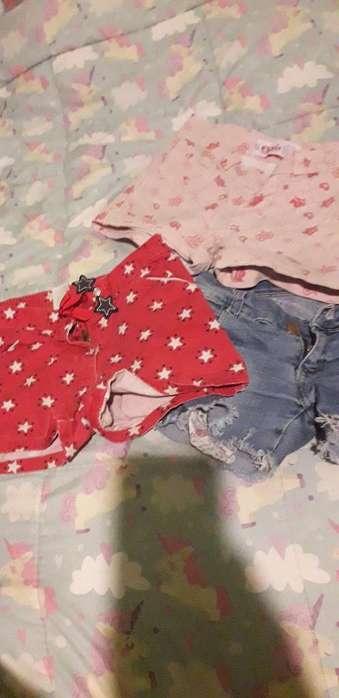 Lote de <strong>ropa</strong> para Nena Talle 6