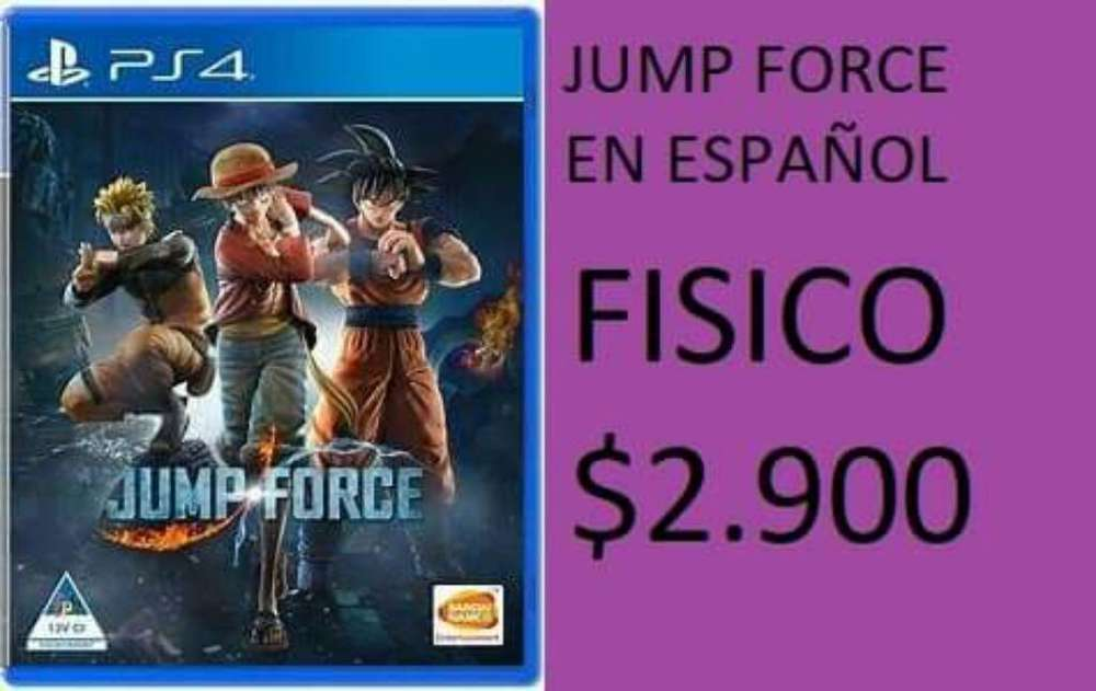 Jump Force Fisico