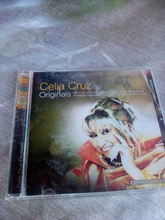 Cd Celia Cruz Originals