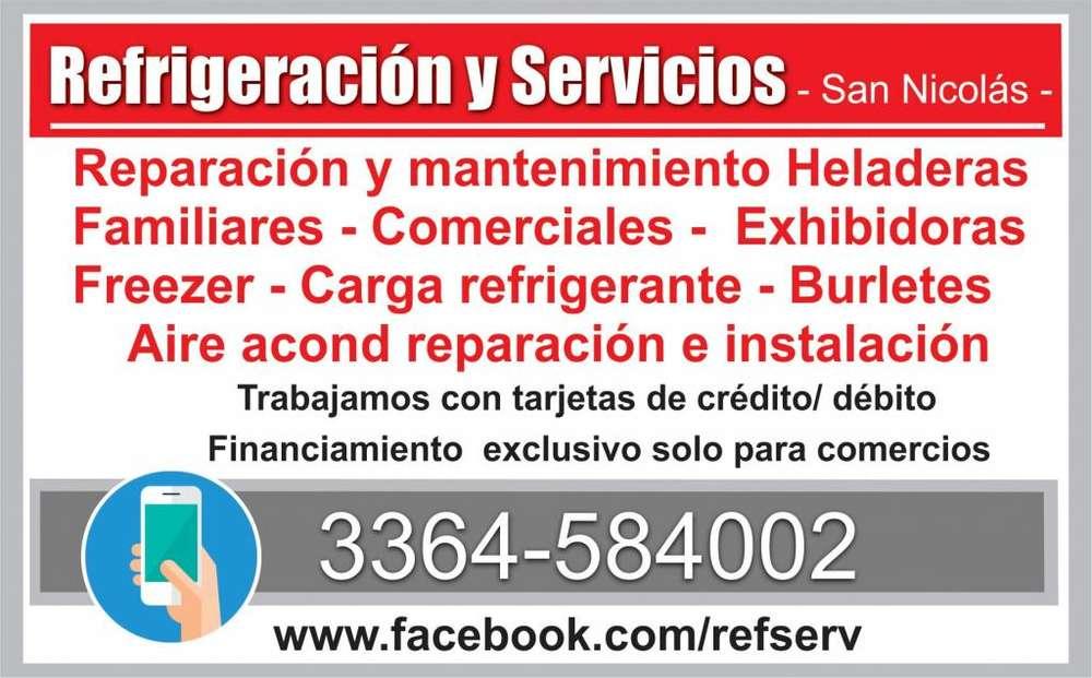 Refrigeración y Servicios - San Nicolás