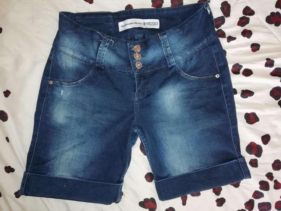 Short Talla 8 Classic Jeans