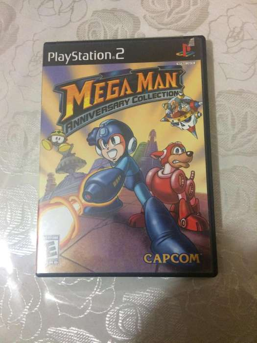 Juego MEGA MAN Aniversary Collection para PS2 original
