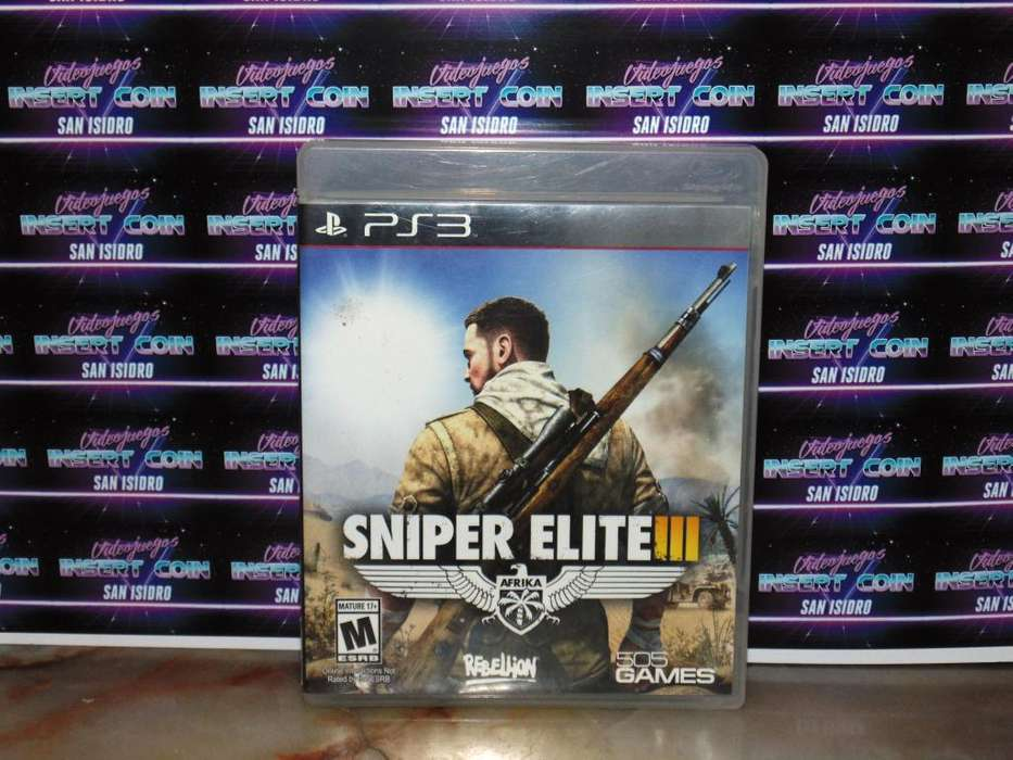 Sniper Elite 3 PS3 Juego Play Station 3