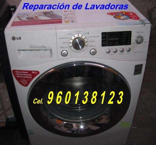 Lavadoras reparación y mantenimiento EDGARDO 960138123 a domicilio Arequipa Serv. Técnico. Acepto todas las Tarjetas