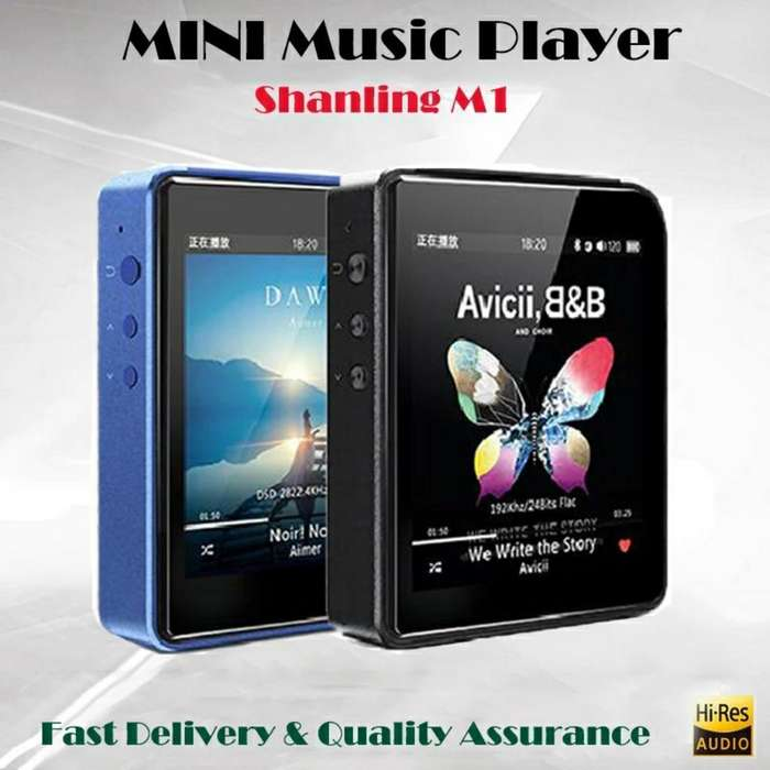 Reproductor de Audio Shanling M1