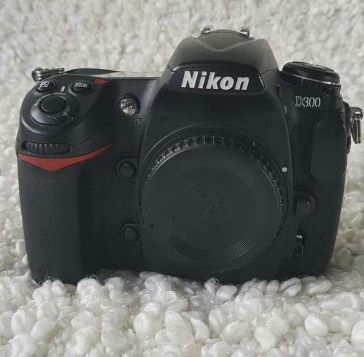 Camara Reflex Digital Nikon D300