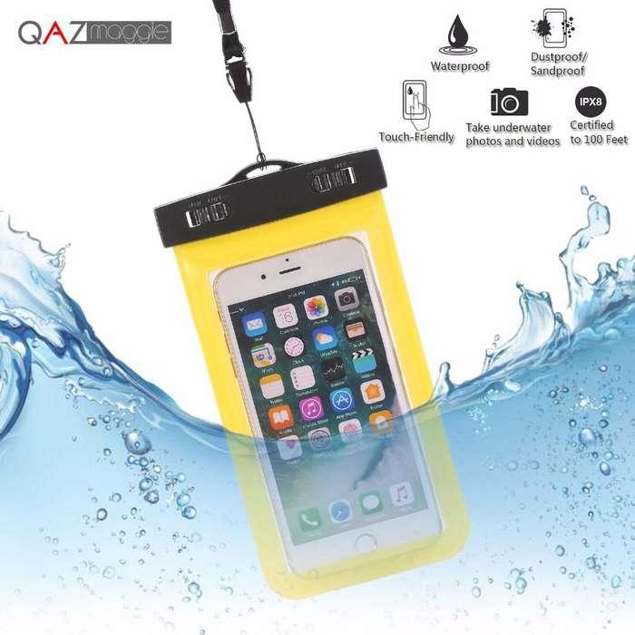 Case / Carcasa Bolsa Impermeable para Celulares Iphone, Samsung, todos