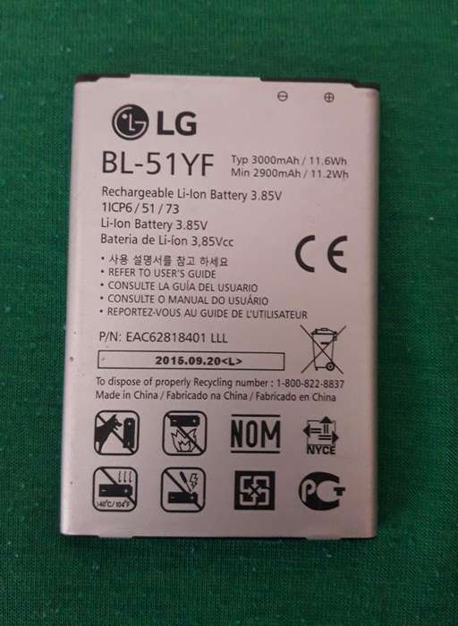 Vendo Bateria Y Tpu Lg G4