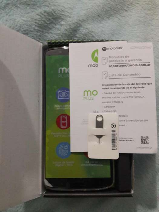 Motorola G6 Plus 64 Gb 4 Ram Libre Nuevo