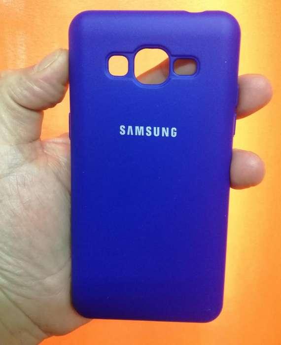 Funda Silicone Case Silky Para Samsung J2 Prime Original TRIBUNALES
