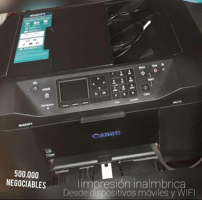 Impresora Canon Maxify2110 Negociable