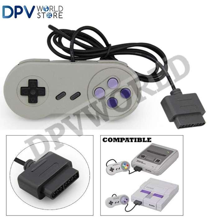 Control Super Nintendo Snes Antiguo Tipo Nintendo Snes 10 Botones