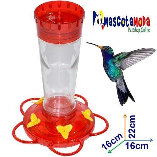 Bebederos para colibrí o quinde tenemos en plastico y en vidrio
