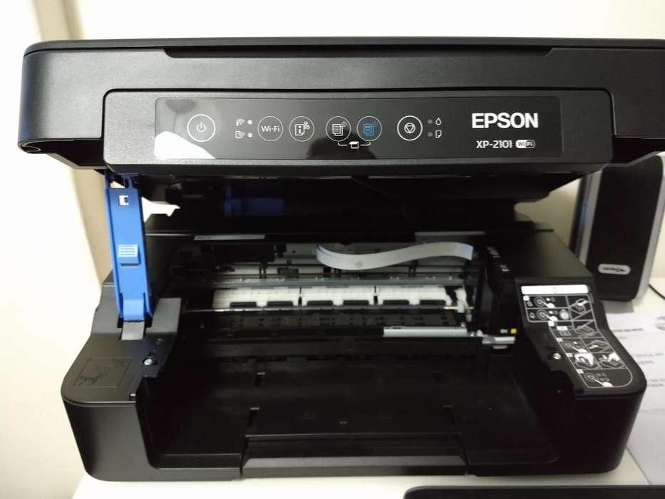 Impresora Epson Xp 2101 con cartuchos