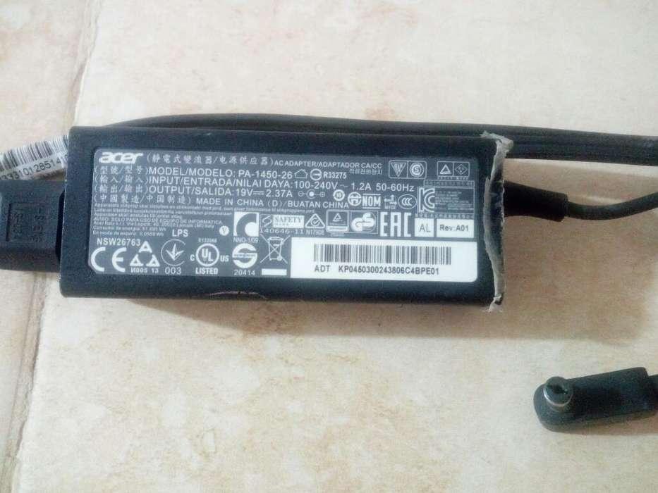 Adaptador para Portátil Acer 19v- 2,37a