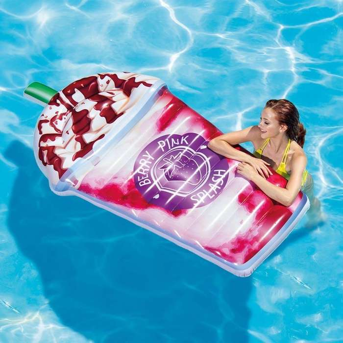 Intex Flotador Inflable Berry Pink Splash <strong>piscina</strong> Flotador Party