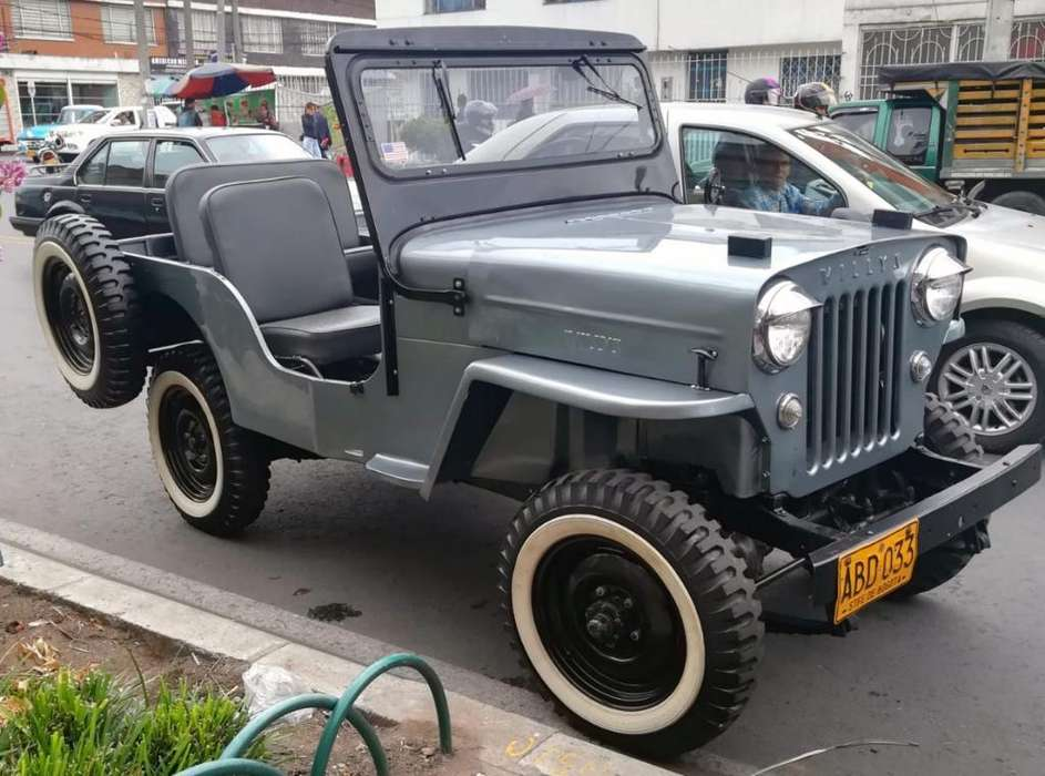 <strong>jeep</strong> Willys 1954 - 100 km