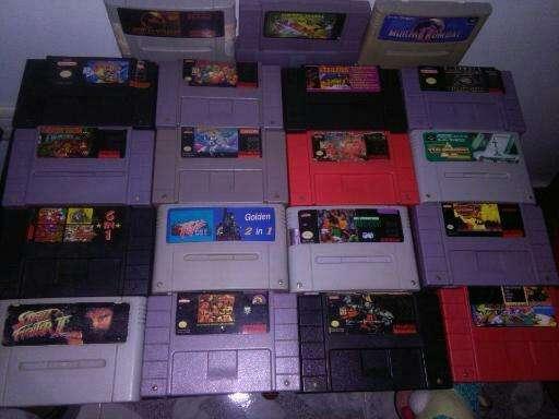 Juegos Super Nintendo Snes 18 juegos