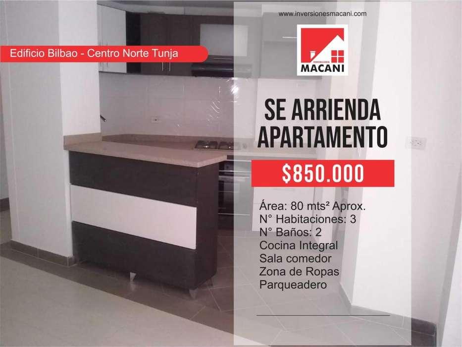 Se Arrienda Apartamento Edificio Bilbao - Centro Norte Tunja