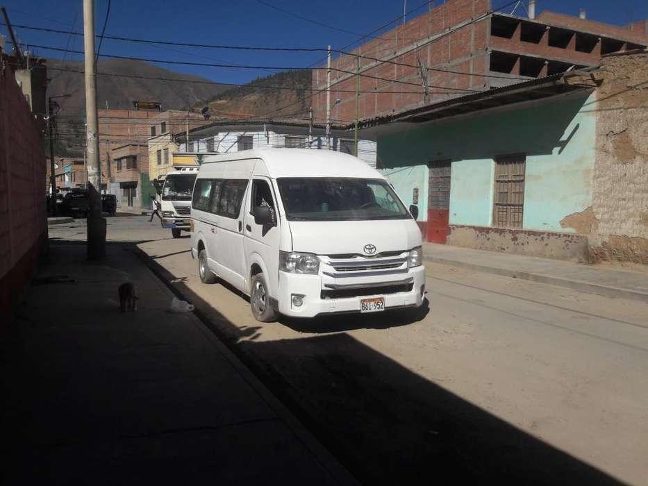 VENDO COMBI EN HUANCAYO