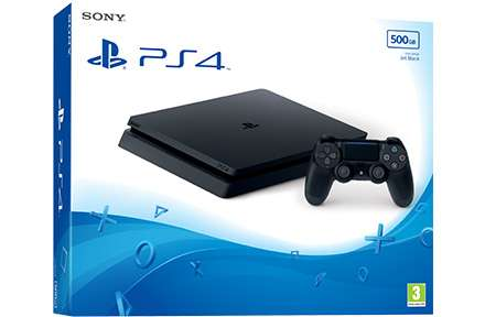 Consola Playstation 4 De 500 Mb