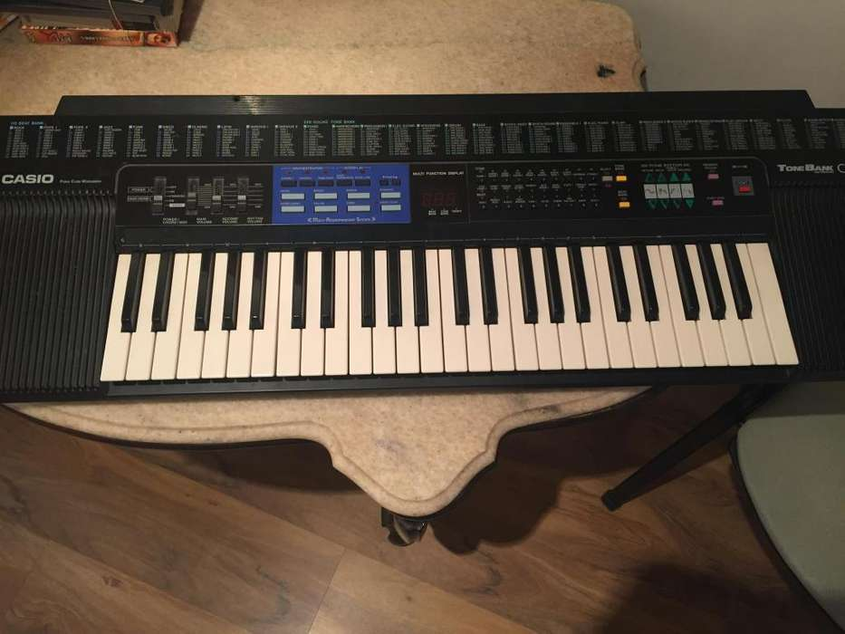 ORGANO CASIO TONE BANK CT470