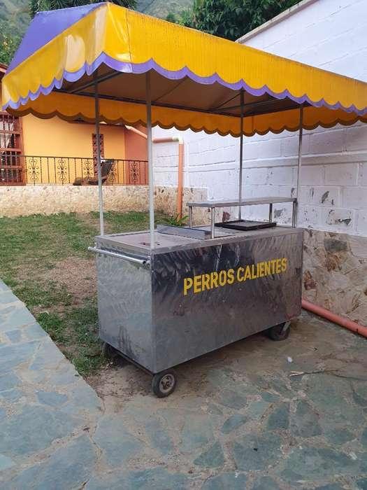 Carro de <strong>comida</strong>s Rapidas en Acero