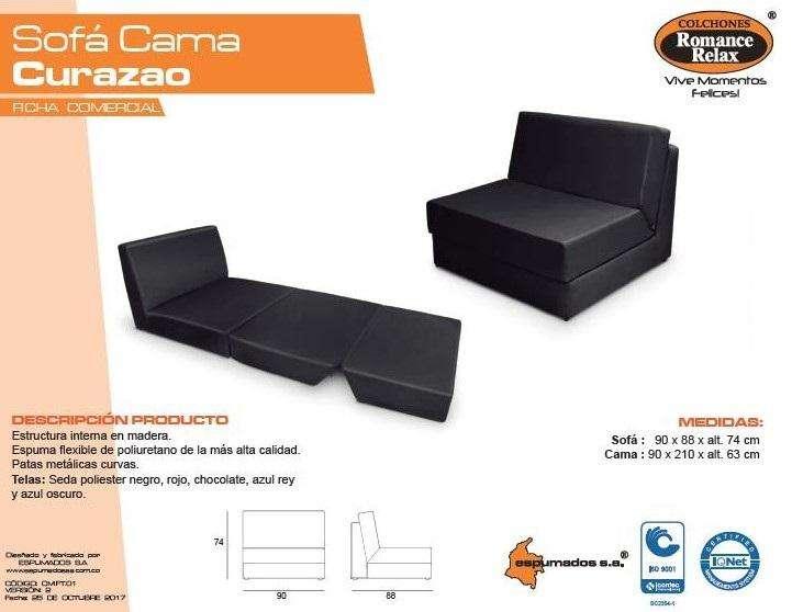 Sofa Cama Curazao ¡¡super oferta!! envió Gratis