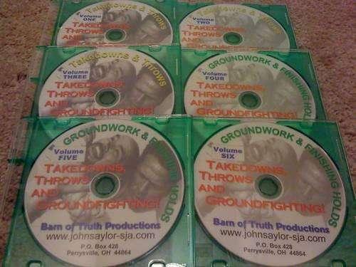 DVD INSTRUCTIVOS DE JUDO DEFENSA PERSONAL MMA BJJ JIU JITSU SAMBO TAKEDOWNS THROWS PROFESOR JOHN SAYLOR 06 DISCOS