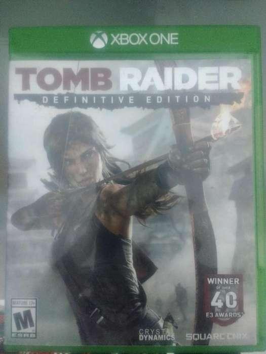 Tom Raider Definitive Edition - XBox One Video Juego