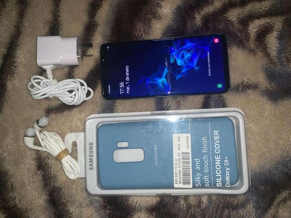 Samsung Galaxy S9 Plus Tomo Celu y Plata