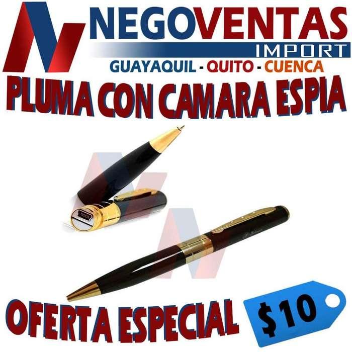 PLUMA O ESFERO CAMARA ESPIA FULL HD RECARGABLE