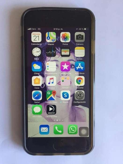 iPhone 6 Usado, 64gb Libre De Imei y Icloud , Imei 354449062428660